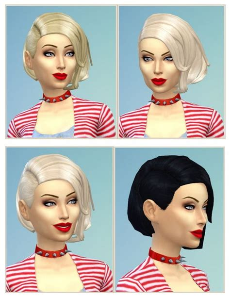 sims 4 hairstyle shaved side pinterest the world s catalog of ideas