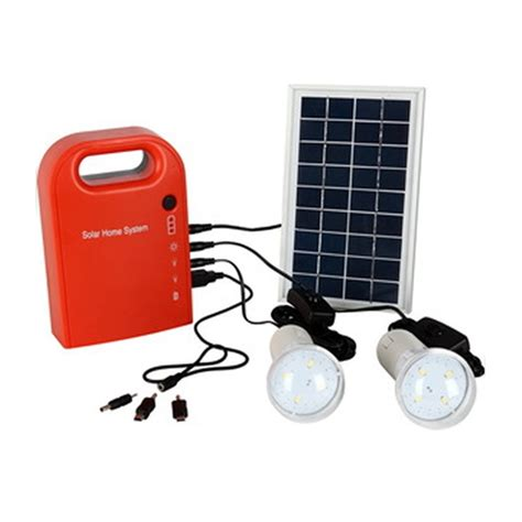Power Bank Solar Emergency Led Product portable solar power bank panel 2 led l with usb cable battery charger emergency lighting