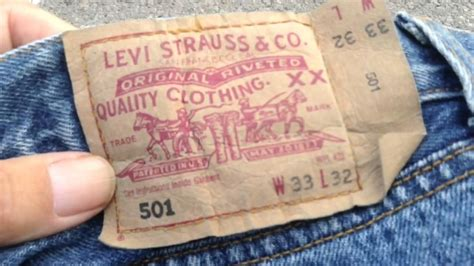 T Shirt Levis Tag Usa levi s 501 or real