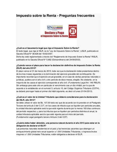 tabla retencion impuesto venezuela tabla de retenciones 2016 en venezuela