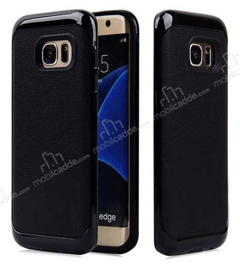 Motomo Esm Samsung S6 Edge motomo samsung galaxy s6 edge siyah kenarlı siyah silikon kılıf