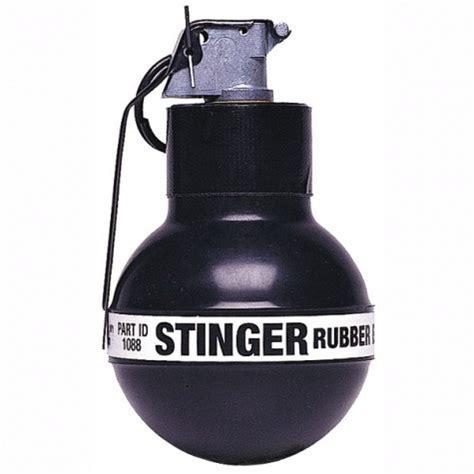rubber sting kits defense technology 32 caliber stinger rubber grenades