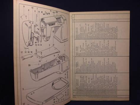 elna sewing machine parts diagram catalogue of spare parts elna transforma and 32 similar