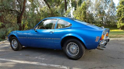 1971 buick opel 1971 opel gt 1 9 1900 4 cylinder manual transmission
