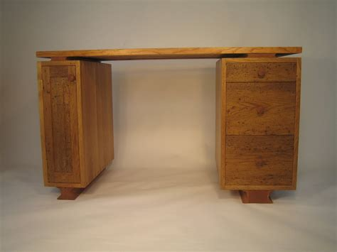Handcrafted Desk - handmade furniture wood desks woodstock vermont