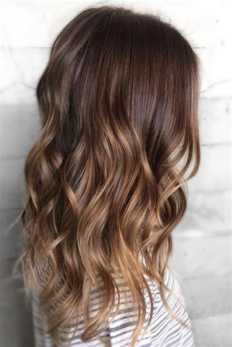 dyed hairstyles for brunettes best 25 dyed hair brown ideas on pinterest brown hair