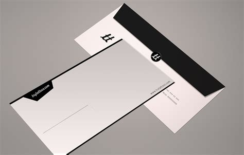 modern elegant tattoo envelope design for a company by