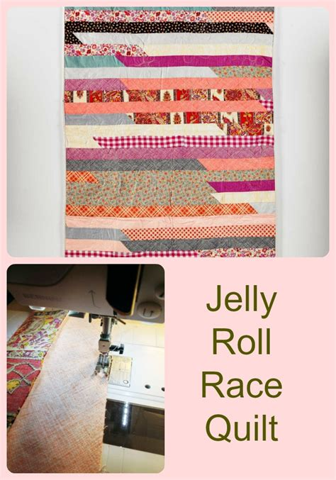 How To Make A Jelly Roll Race Quilt by How To Sew A Jelly Roll Race Quilt Wise Craft Handmade