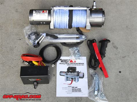 Rugged Ridge Parts by Rugged Ridge Performance Road Winch Install Road