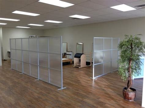 Zen Room Divider Zen Room Dividers To Separate Space At Bay Area Pilates Studio