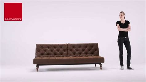 vintage leather sofa bed oldschool vintage leather chesterfield sleeper sofa bed at