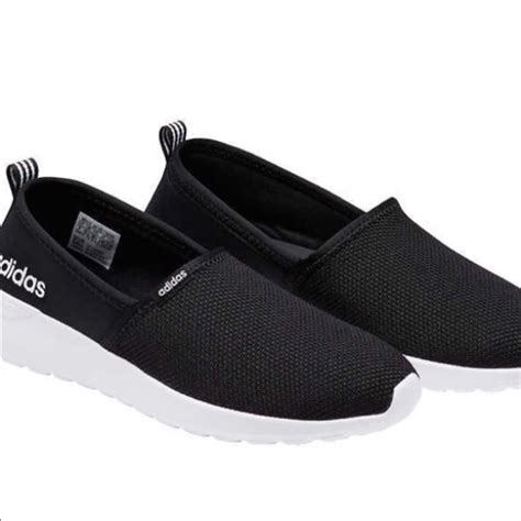 Adidas Neo Slip On Pria Navy Made In 100 Baru 3 adidas shoes neo cloudfoam black sneakers slip on poshmark