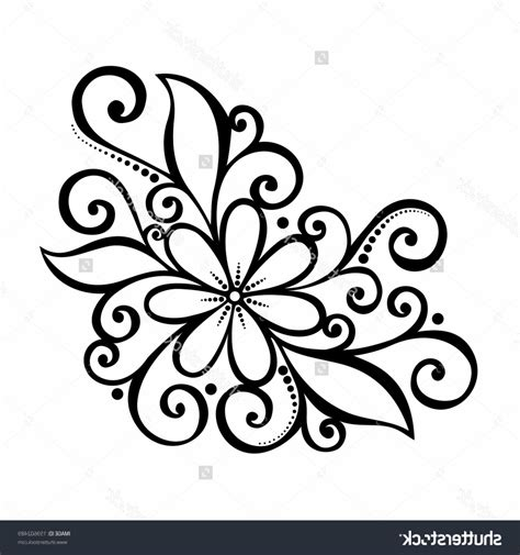 Drawing Designs by Simple Flower Drawing Designs Simple Flower Design Draw On