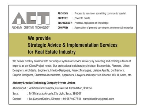 Cem Mba Construction Real Estate by Fast Forward Future Sumant Kachru