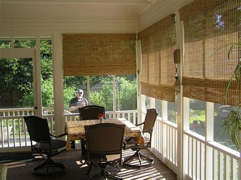 Blinds For Screened In Porch privacy shades for screened porch outdoor blinds for screen porch front porch