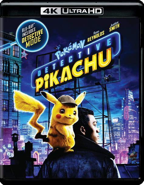 pokemon detective pikachu dvd release date august