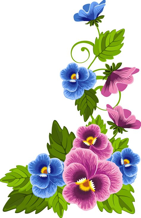 new year flower png