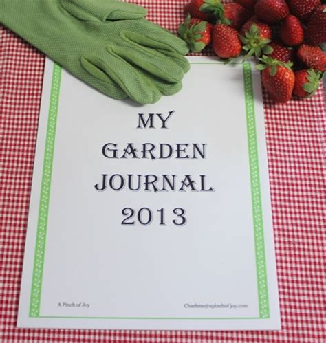 Gardening Journal by Why And How To Keep A Garden Journal