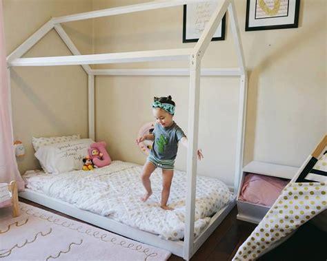 2 Floor Bed Montessori Furniture Montessori Room Farmhouse Floor Bed
