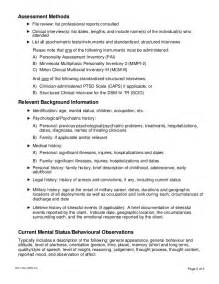 Psychological Evaluation Sample Report Psychological Assessment Report