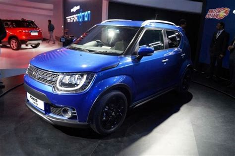 Spoiler Ignis With Colour maruti to launch all new ignis soon rediff business