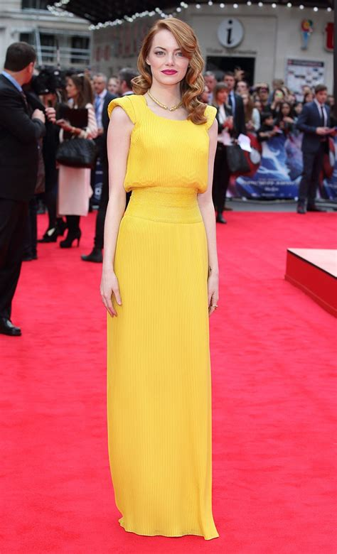 the hottest red carpet styles are those women age 60 and her 10 best emma stone reign magazine