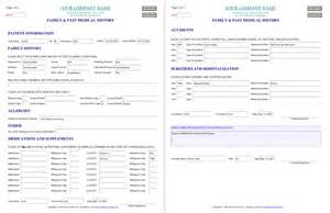 family health history form template quotes