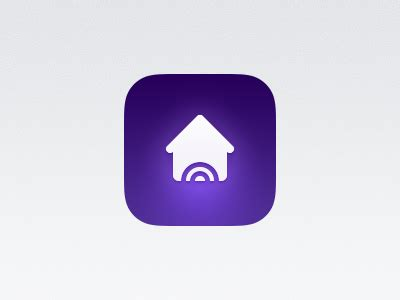 home automation icon by angela c toffeenut design dribbble