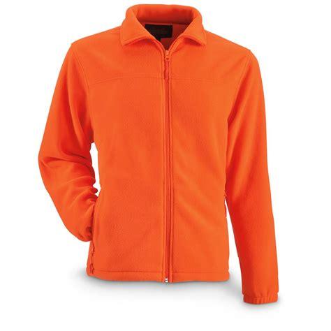 fleece zip jackets guide gear s fleece zip jacket 669047 camo