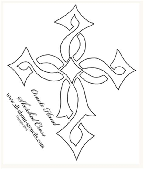 printable iron cross stencil quilting border stencil patterns free quilt pattern