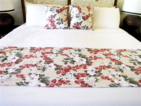 bed scarves and matching pillows bed scarf with two pillow leaves and vines bed scarf and matching bed pillows by