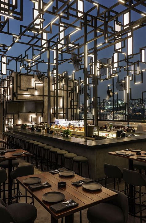 rooftop bar shines   light   beirut
