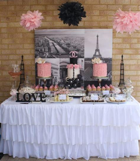 ideas de decoraciones para quinceaneras tema paris mesa de postres tipo paris ideal para fiesta de xv a 241 os