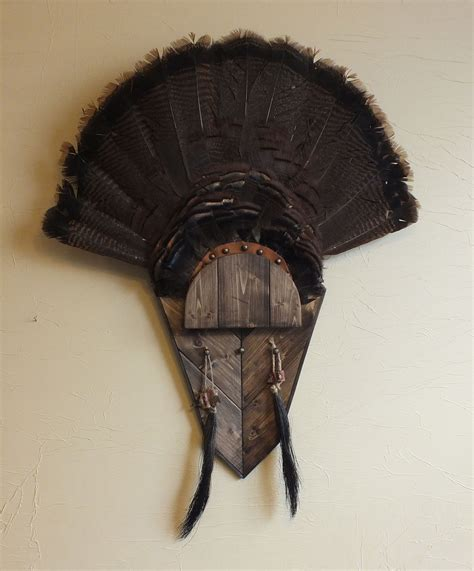 how to mount a turkey fan dark walnut turkey fan mount stuff to try pinterest