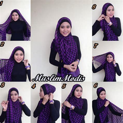 tutorial hijab pasmina simple dan cepat tutorial hijab pashmina simple dan cantik