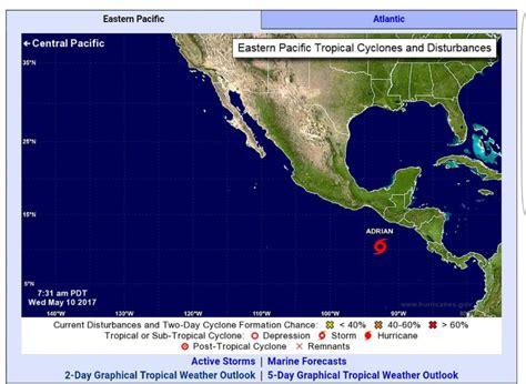 Pasaran Hn pronostican que este a 241 o 26 tormentas tropicales pasar 225 n cerca de honduras diario la prensa