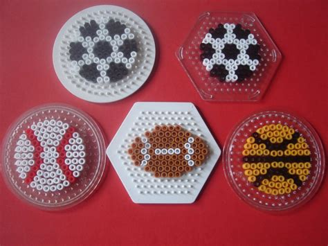 perler bead sports patterns hama on hama perler and
