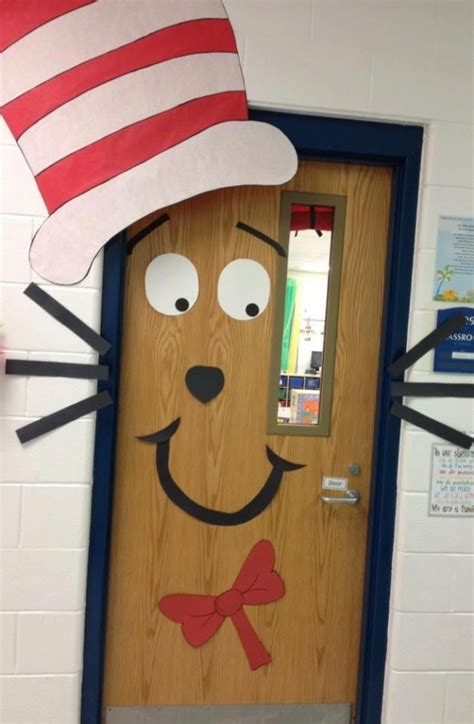 School Door Decorations by Classroom Door Decorations 42 Totally Great Dr Seuss