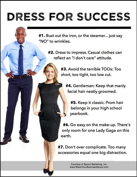 7 Tips On Dressing Those by A Few Tips For Dressing For Success When Outreach