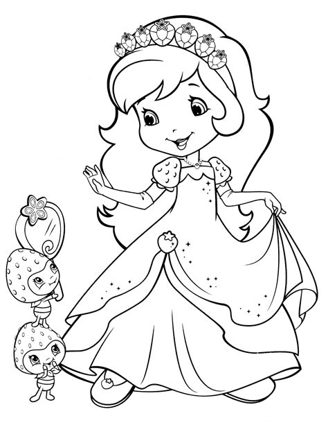 strawberry shortcake 28 coloringcolor com