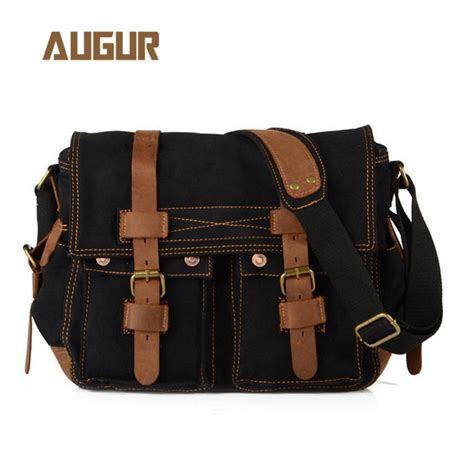 Tas Bag Black Mumer Slempang augur tas selempang canvas messenger bag black jakartanotebook