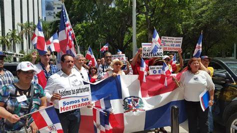 consolato dominicano a contra difamaci 211 n a rd dominicanos protestan ante