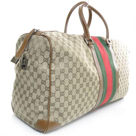 Gucci Duffle Bag gucci monogram web duffle bag 24582