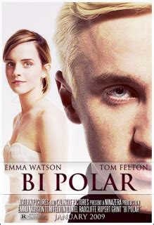 emma watson et tom felton film bi polar starring emma watson and tom felton fan trailer