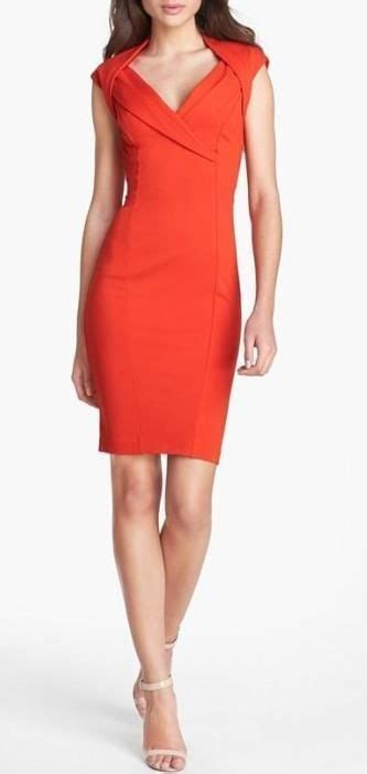 Dress Simple Motif Orange gorgeous dress for thanksgiving dinner cheer