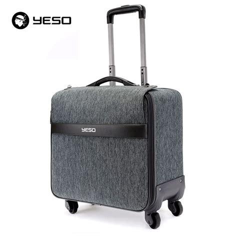 yeso brand trolley travel bag luggage 2016 autumn