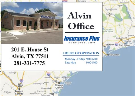 Progressive Insurance Office Locations by Progressive Insurance Agency Alvin Office Location