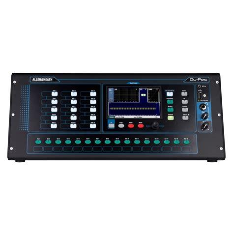 Mixer Digital Allen Heath Qu 16 allen and heath qu pac ultra compact digital mixer at