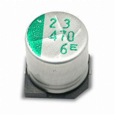 high density capacitors smd aluminum electrolytic capacitor with 4 to 100v dc voltage range ideal for high density
