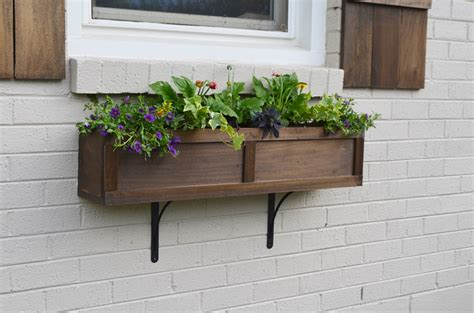lowes window flower boxes lowe s home exterior makeover reveal beneath my